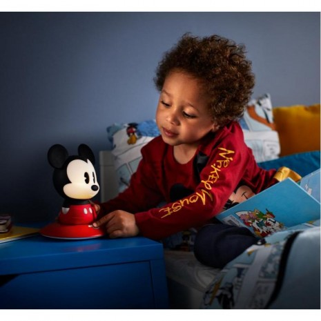 Mickey Mouse επιτραπέζιο ή φορητό φως νύκτας LED 2