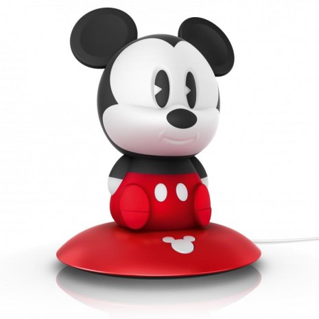 Mickey Mouse επιτραπέζιο ή φορητό φως νύκτας LED